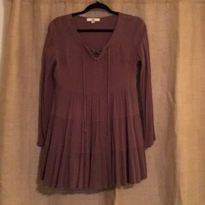 Brown dress :)